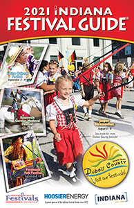 Indiana Festivals Guide Cover